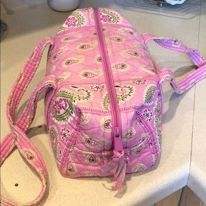 Vera Bradley mini duffle bag